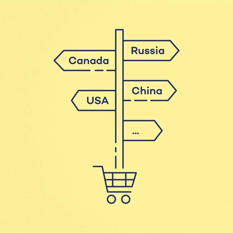 Werelds verkopen met een internationale webshop