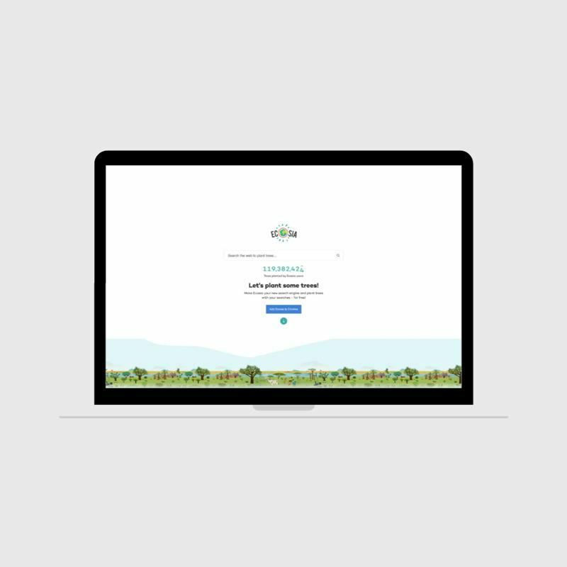 Ecosia: the search engine with an environmentally conscious target audience
