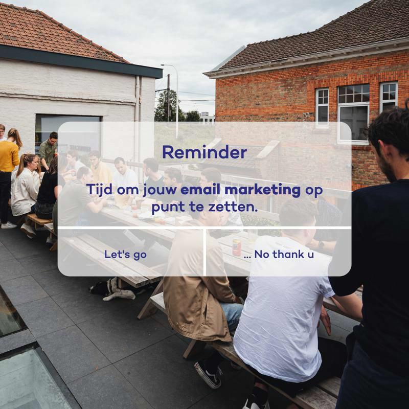 E-mail marketing 101 voor jouw webshop