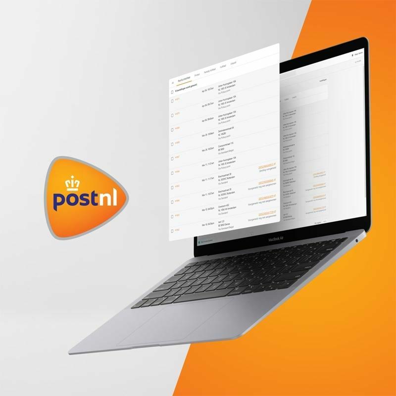 PostNL app voor Shopify