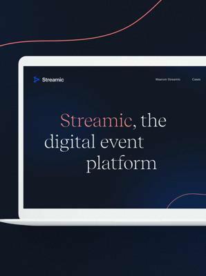 Streamic, het digitale event platform