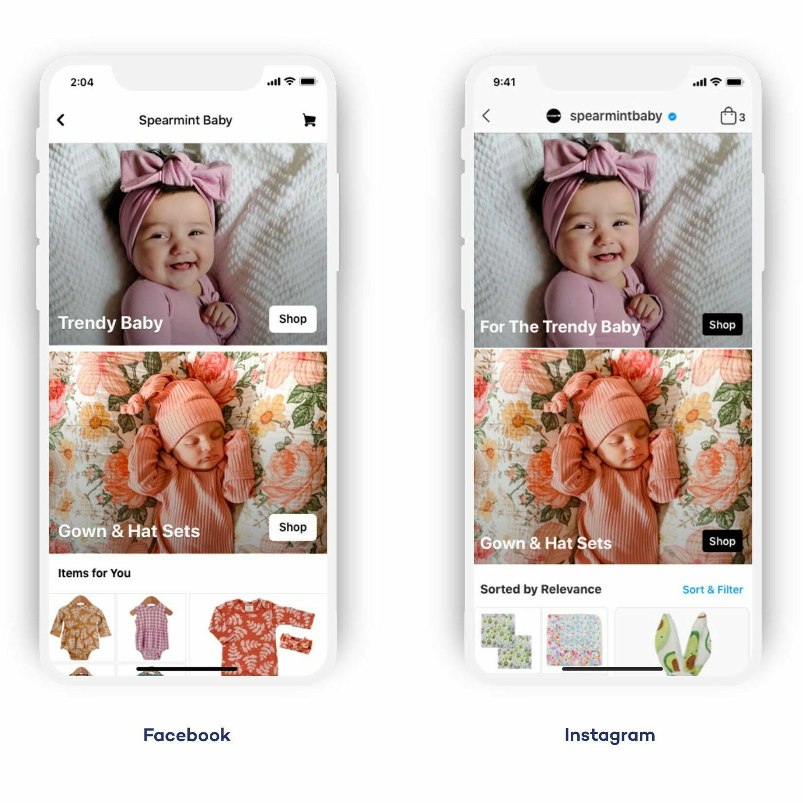 facebook shops Esign